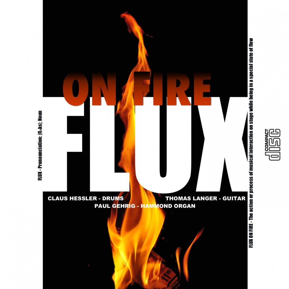 FLUX On FIre-Cover