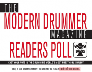 Modern Drummer Readers Poll